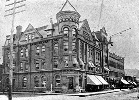 The Blennerhett Hotel Circa 1907